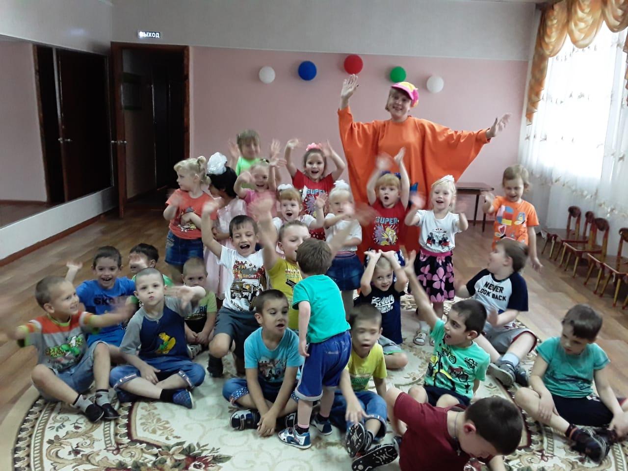 Y3 TRkRANRU - Детский праздник в Чапаевске